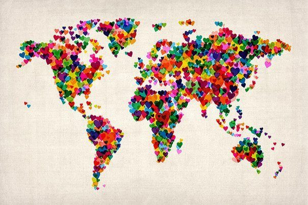 World love map
